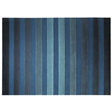 Tapis Cross Walk ESPRIT HOME, bleu