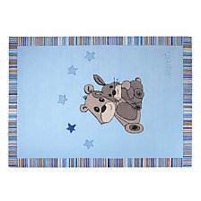 Tapis Little Best Friends ESPRIT HOME, bleu