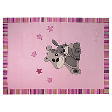 Tapis Little Best Friends ESPRIT HOME, rose
