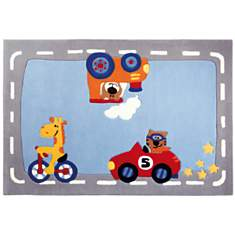 Tapis Happy Street Traffic SIGIKID
