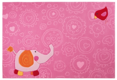 Tapis Happy Zoo Elephant SIGIKID, rose pour 369€