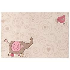 Tapis Happy Zoo Elephant SIGIKID, beige