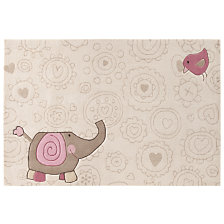 Tapis Happy Zoo Elephant SIGIKID, beige