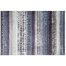 Tapis Graphic Edge ESPRIT HOME, bleu