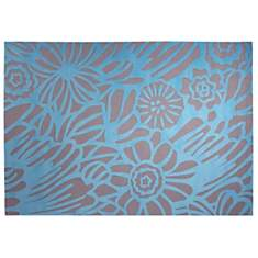 Tapis Finally Summer ESPRIT HOME, bleu