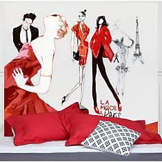 Tête de lit La Mode à Paris MADEMOISELLE...