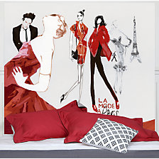 Tête de lit La Mode à Paris MADEMOISEL...