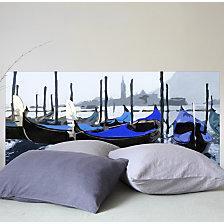 Tête de lit Les Gondoles à Venise MADE...