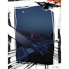 Panneau décoratif Paris à Tokyo MADEMO...