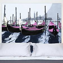 Tête de lit Gondoles à Venise MADEMOIS...