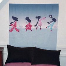 Tête de lit enfant Petites Femmes MADEM...