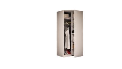 PERCEY Armoire d´angle H232 cm. PERCEY Dressing sur Mesure Fabriqué en France CORPS de MEUBLES : - Réalisés en panneaux de