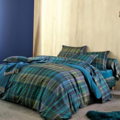 Parure de lit satin Bornéo BLANC DES VOSGES