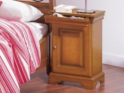 Chevet 1 porte 1 tiroir ferrure à droite Anna, Structure : - Panneaux... par LeGuide.com Publicité