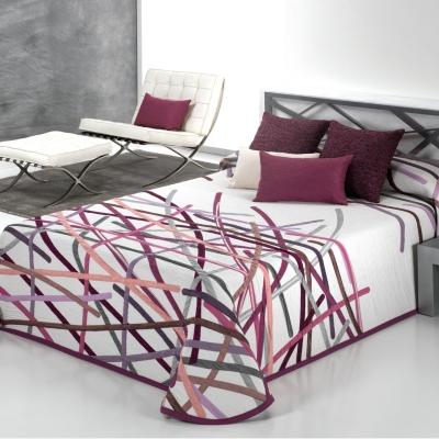 Couvre-lit Alix, 280 x 270 cm Composition : 100 % polyester. Lavage machine.... par LeGuide.com Publicité