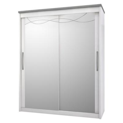 Armoire portes miroirs Mauléon, Structure et finition: - Placage merisier... par LeGuide.com Publicité