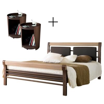 lit 2 chevets bilbao literie en ligne. Black Bedroom Furniture Sets. Home Design Ideas