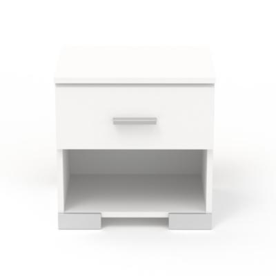 Chevet 1 tiroir Pharell, Structure : - Panneaux de particules d'épaisseur... par LeGuide.com Publicité
