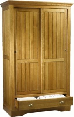 Armoire Régate larg 121cm 2 portes bois coulissantes, 1 tiroir pour 1305€