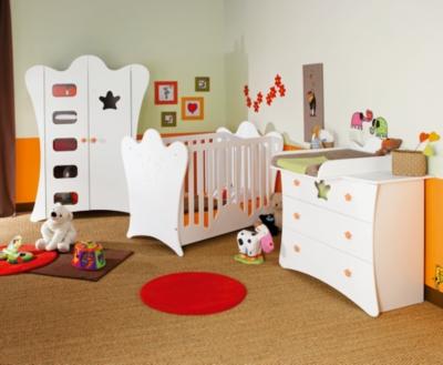 Chambre bébé complète Sam pour 1245€