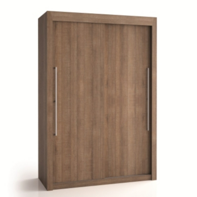 promotion armoire 2 portes bois deborah hauteur 200 cm chez matelsom. Black Bedroom Furniture Sets. Home Design Ideas