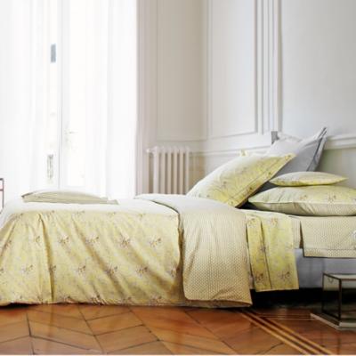 linge de maison parure de lit percale avignon blanc des vosges literie matelas achats en ligne. Black Bedroom Furniture Sets. Home Design Ideas