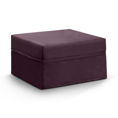 pouf convertible tissu coton lin literie en ligne. Black Bedroom Furniture Sets. Home Design Ideas