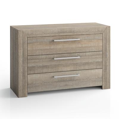 commode d borah ch ne gris literie en ligne. Black Bedroom Furniture Sets. Home Design Ideas