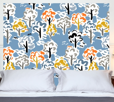 t te de lit for t mademoiselle tiss literie en ligne. Black Bedroom Furniture Sets. Home Design Ideas