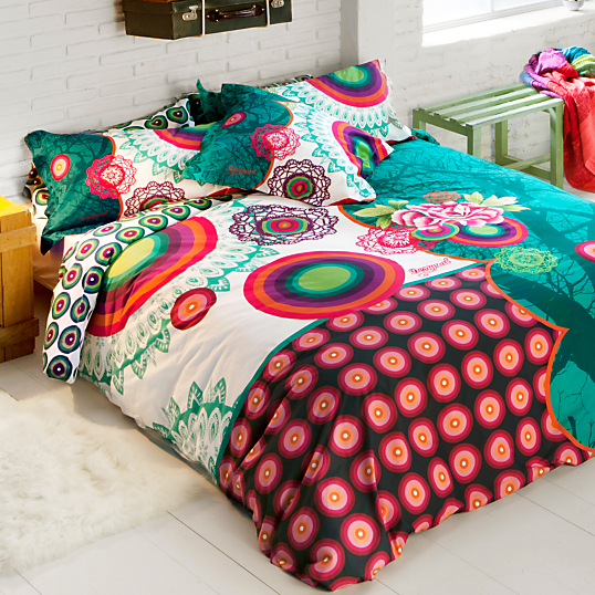 housse de couette satin galactic desigual. Black Bedroom Furniture Sets. Home Design Ideas