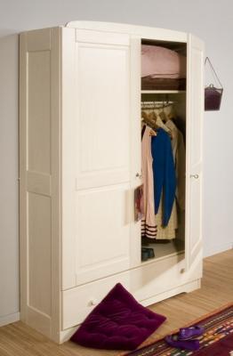 Armoire 2 portes Iris teintée ivoire pour 679€