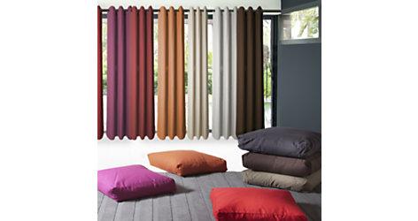 Coussin de sol Lounge, 6 coloris