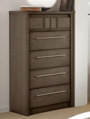 Chiffonnier 5 tiroirs Mareva gris pour 945€