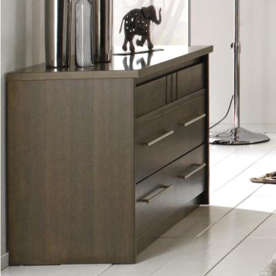 Commode 3 tiroirs Mareva grise pour 895€