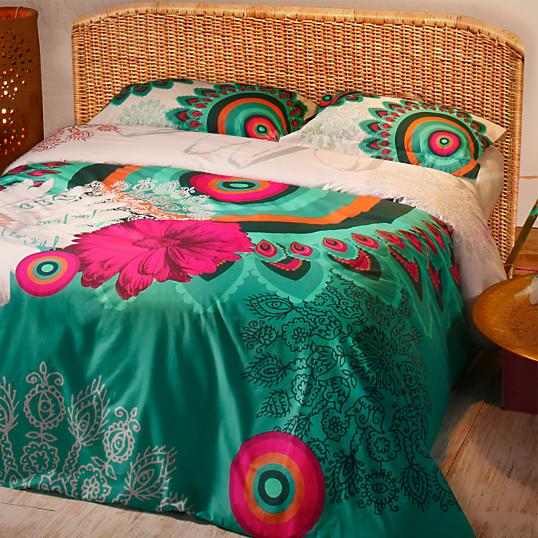 parure de lit percale margarita desigual. Black Bedroom Furniture Sets. Home Design Ideas
