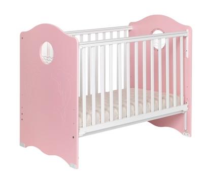 Lit bébé Némo coloris rose pour 355€