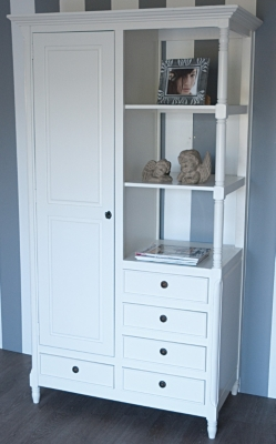 Armoire 1 porte 5 tiroirs Paris pour 1305€