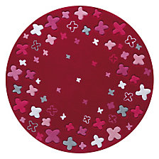 Tapis ESPRIT HOME Party fushia