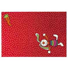 Tapis Rainbow Rabbit SIGIKID, rouge