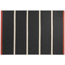 Tapis Simple Stripe ESPRIT HOME, noir