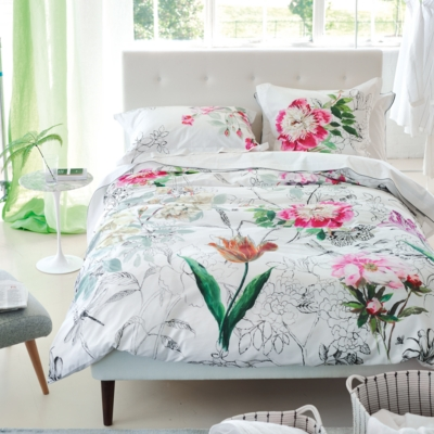 Taie d'oreiller percale Sibylla DESIGNERS GUILD