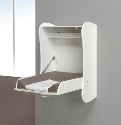 Table à langer murale blanche pour 260€