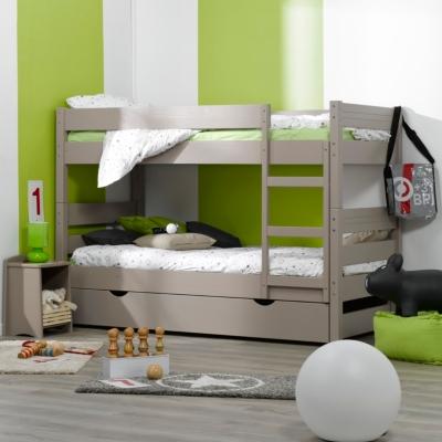 lits superpos s tiroirs topaze literie en ligne. Black Bedroom Furniture Sets. Home Design Ideas