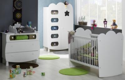 Chambre bébé complète Silène à barreaux pour 1249€