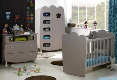 Chambre bébé complète Silène à barreaux pour 1245€