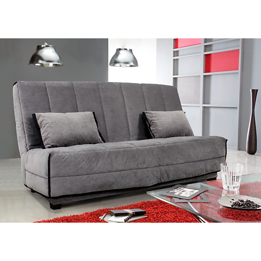 banquette clic clac vanina matelas dunlopillo 12 cm. Black Bedroom Furniture Sets. Home Design Ideas