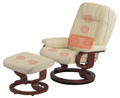 Fauteuil relax massant cuir cama eu - Fauteuil massage dos ...