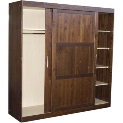 Grande armoire 2 portes Zen teintée weng é pour 649€