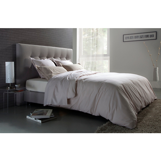 tete de lit tissu gris maison design. Black Bedroom Furniture Sets. Home Design Ideas