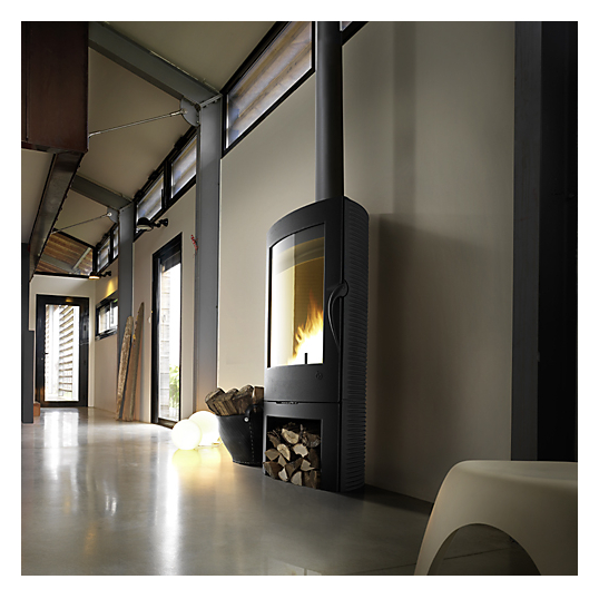 poele a bois 12kw. Black Bedroom Furniture Sets. Home Design Ideas